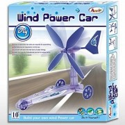 Wind Powered Eco-Friendly Car Educational Kit