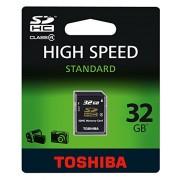 Toshiba Scheda di Memoria SD High-Speed, 32 GB, Nero