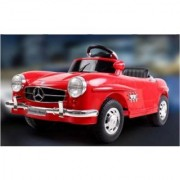 New Red Mercedes Benz Slk R/C Mp3 Lights Kids Ride On Car