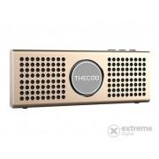 Boxă portabilă Thecoo BTD708K Bluetooth, gold
