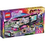 LEGO® Friends Autobuzul de turneu al vedetei pop 41106