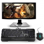Tecknet Gaming Combo X861 - комплект геймърска клавиатура и мишка с LED подсветка (за PC)