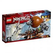 Lego Ninjago - 70603 - Jeu de Construction - L'Attaque du Zeppelin des Pirates