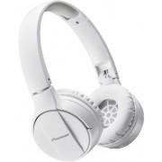 Casti Stereo Pioneer SE-MJ553BT-W, Bluetooth (Alb)