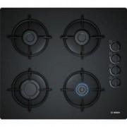 Bosch Serie 2 POP6B6B10 - Table de cuisson au gaz - 4 plaques de cuisson - Niche - largeur : 56 cm - profondeur : 48 cm - noir