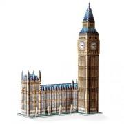 Wrebbit - 34504 - Big Ben and House of Parliament - Queen Elizabeth Tower - 3D-Puzzle