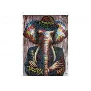 Canvastavla Elefantmannen 90x120 -