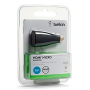 Belkin Micro HDMI Adapter - Gold Connector F3Y043bt