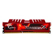 G.SKILL Ripjaws X Series 8GB 240-Pin DDR3 SDRAM DDR3 1600 (PC3 12800) Desktop Memory Model F3-12800CL10S-8GBXL