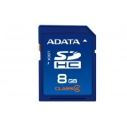 Secure Digital Card SDHC 8GB class4 ADATA (ASDH8GCL4-R)