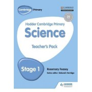 Hodder Cambridge Primary Science Teacher's Pack 1: Teachers pack 1 by Debbie Eccles