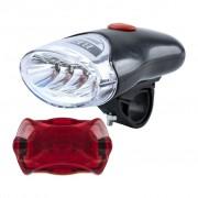 Bicikli lámpa szett 4+5 Led- FF-302