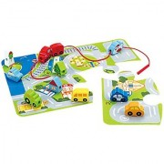 Hape - Early Explorer - Busy City Puzzle Mat Play Set