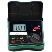 HOLDPEAK 4200 Digitális földelési ellenállásmérő 0-2000ohm 0-30V mérési feszültség földelőrúd hord táska
