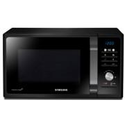 Cuptor cu microunde Samsung MS23F301TAK, 23 Litri, Comenzi Electronice, Afisaj Digital, Timer 99 Minute, Putere 800 W, Negru