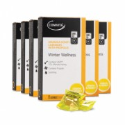 Set promotional - 6 buc Dropsuri de gat cu propolis, lamaie si miere de Manuka UMF®10+