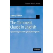 The Comment Clause in English by Laurel J. Brinton