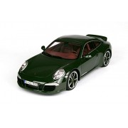 Porsche 911 (991) Club Coupe, oscuro-verde , 2012, Modelo de Auto, modello completo, GT espiritu 1:18