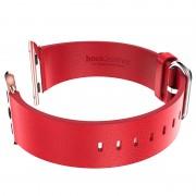 Bracelete de Couro Hoco para Apple Watch - 42mm - Vermelho