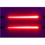 Tub neon stroboscopic 12 inch rosu