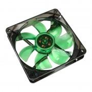 Ventilator Cooltek Silent Fan 120 Green LED