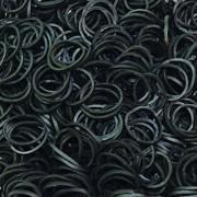 Rainbow Loom Twistz Bandz Refill - Black - Opaque