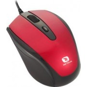 Mouse Laptop Serioux Pastel 3300 1600DPI Optic USB Red