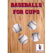 Baseballs for Cups & Balls