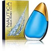Nautica Aqua Rush Gold Edt - 100 Ml (For Men)