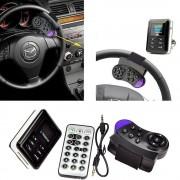 Bluetooth FM transmitter s handsfree s prídavným ovládaním na volant