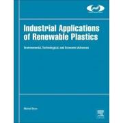 Industrial Applications of Renewable Plastics by Michel Biron
