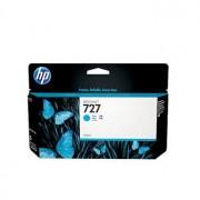 HP 727 Cyan Ink Cartridge, 130-ml (B3P19A)