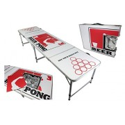 New Ice Bag Icy Chest Cooler Beer Pong Table 8 Aluminum Portable Adjustable Folding Indoor Outdoor Tailgate Drinking Party Game Pong On #4