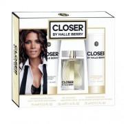 Halle Berry Closer 30Ml Edp 30Ml + 75Ml Docciaschiuma + 75Ml Lozione Corporale Per Donna (Eau De Parfum)