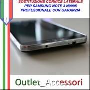 Cambio Cornice Samsung Galaxy Note 3 N9005 Riparazione Sostituzione Telaio Frame Rotto