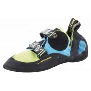 La Sportiva Katana Climbing Shoes Unisex green/blue 2017 39,5 Kletterschuhe
