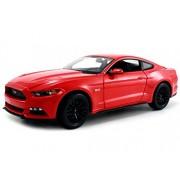 Ford Mustang GT 2015 rojo Maisto