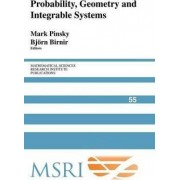 Probability, Geometry and Integrable Systems by Mark A. Pinsky