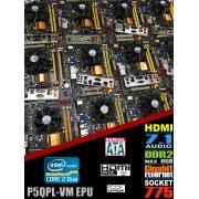 Kit Placa De Baza Asus P5QPL-VM EPU + Intel Core 2 Duo Processor E7400 3M Cache, 2.80 GHz, 1066 MHz FSB