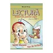 Lectura. Literatura pentru copii clasa a III-a