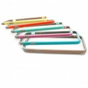 Apple iPhone 6 Tvåfärgad skyddsram - Gul