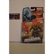 Marvel Legends 2012 Series 1 Action Figure Ghost Rider Red / Orange Head Variant Terrax BuildAFigure Piece