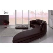 items-france DANEY - Canape cuir 8 places 450x87x88h