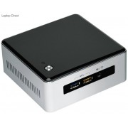 "Intel BOXNUC5-i3RYH NUC i3-5010U 2.1Ghz Miniature PC with Free dos & 2.5"" HDD mounting support"