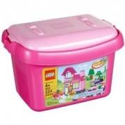 Toy / Game Pink Lego Bricks Box 4625 With Inspirational Ideas And 1 Separator For Girls Building Activities