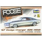 Revell 67 Dodge Charger 426 Hemi Plastic Model Kit