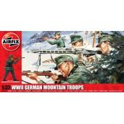 WWII German Mountain Troops figura makett Airfix A04713
