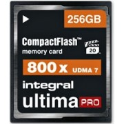 INTEGRAL Cartão Compact Flash Ultima Pro 256GB (120MB/s) 800x