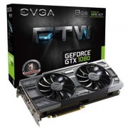 EVGA GeForce GTX 1080 FTW ACX 3.0 (8GB GDDR5X/PCI Express 3.0/1733MHz-1873M