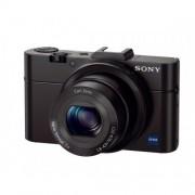 Sony DSC-RX100 MK II Camera with Case - Black (20.2MP, 3.6x Zoom) 3.0 inch LCD FHD